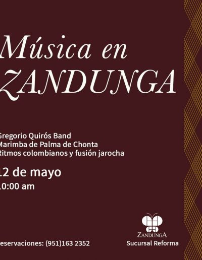 Música Viva en Zandunga